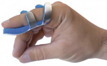 Моделируемая шина пальца кисти