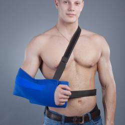 Косыночный бандаж для плечевого сустава с отводящей подушкой РП-6У-10