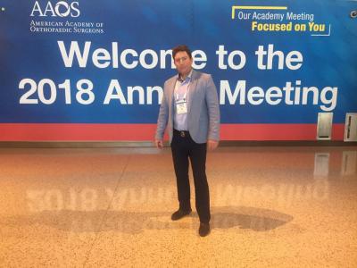 Американская академия ортопедов травматологов 2018 Новый Орлеан